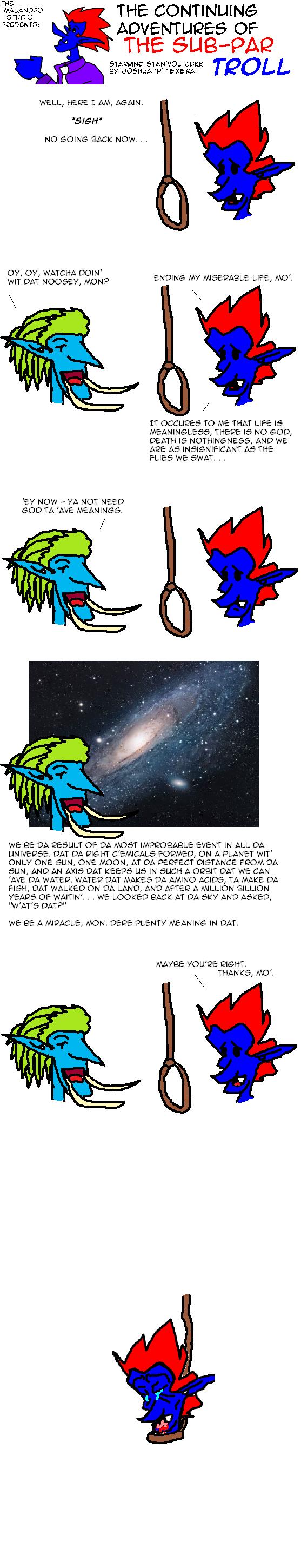 Sub-Par Existence