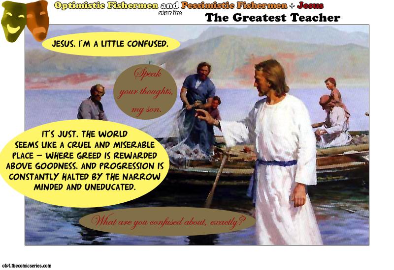 Jesus takes the wheel