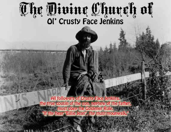 Ol' Crusty Face Jenkins: Goldener Rule
