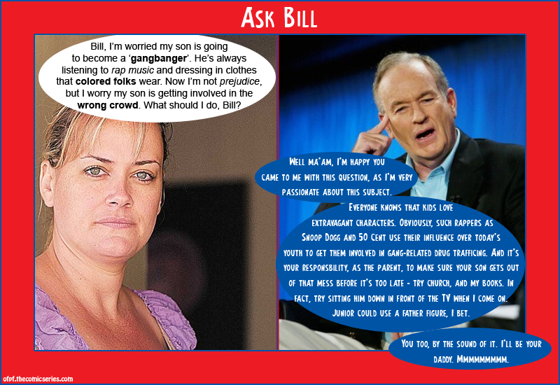 Ask Bill - Black people in MY white suburb?