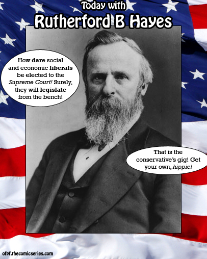 Today with Rutherford B Hayes #5