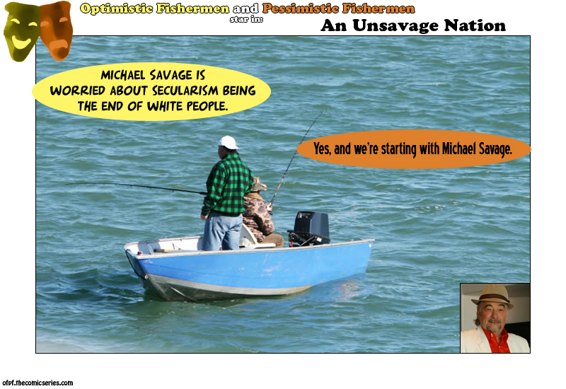 Michael Savage hates illegal? :O